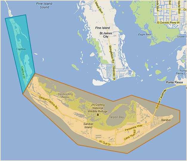 Captiva Island: Sanibel And Captiva Waterfront Search